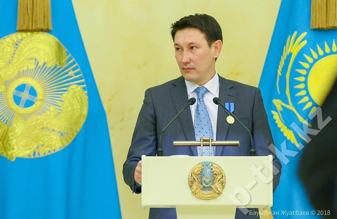 "Технический директор Кайрат Макажанов был награжден медалью ""Ерен еңбегі үшін"""