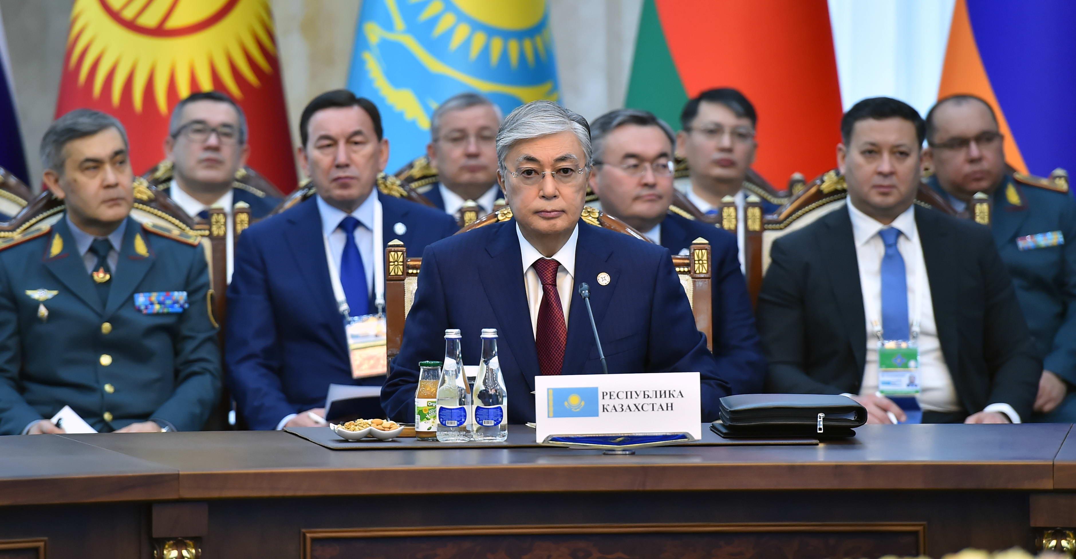 Глава государства принял участие в сессии Совета коллективной безопасности ОДКБ