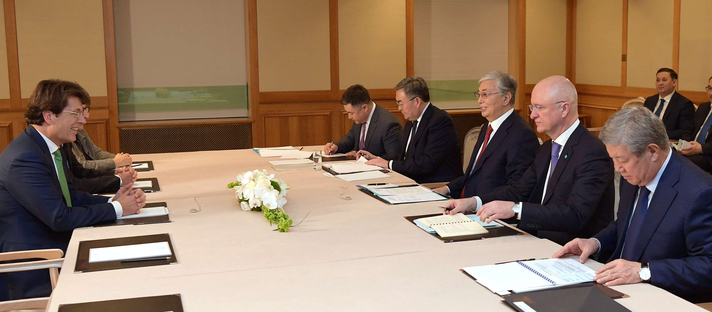 President of Kazakhstan held meetings with representatives of German business