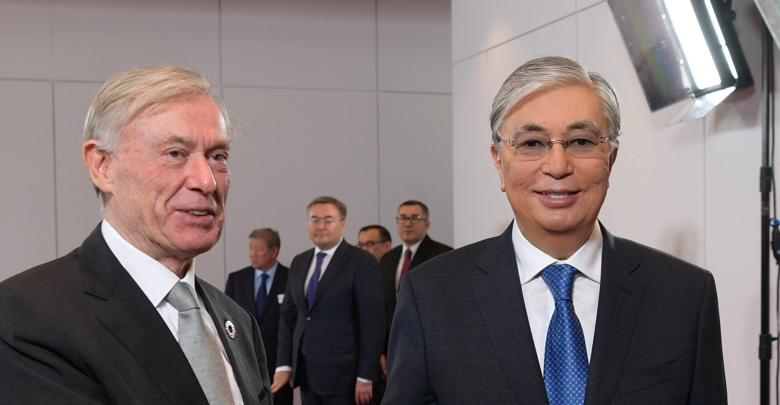 Kassym-Jomart Tokayev met with former German President Horst Köhler