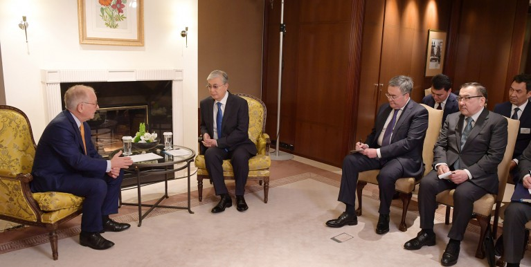 The Head of State met with Chairman of the Munich Security Conference Wolfgang Ischinger