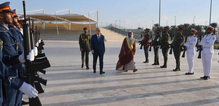 Президент Казахстана посетил мемориальный комплекс «Вахат аль-Карама»