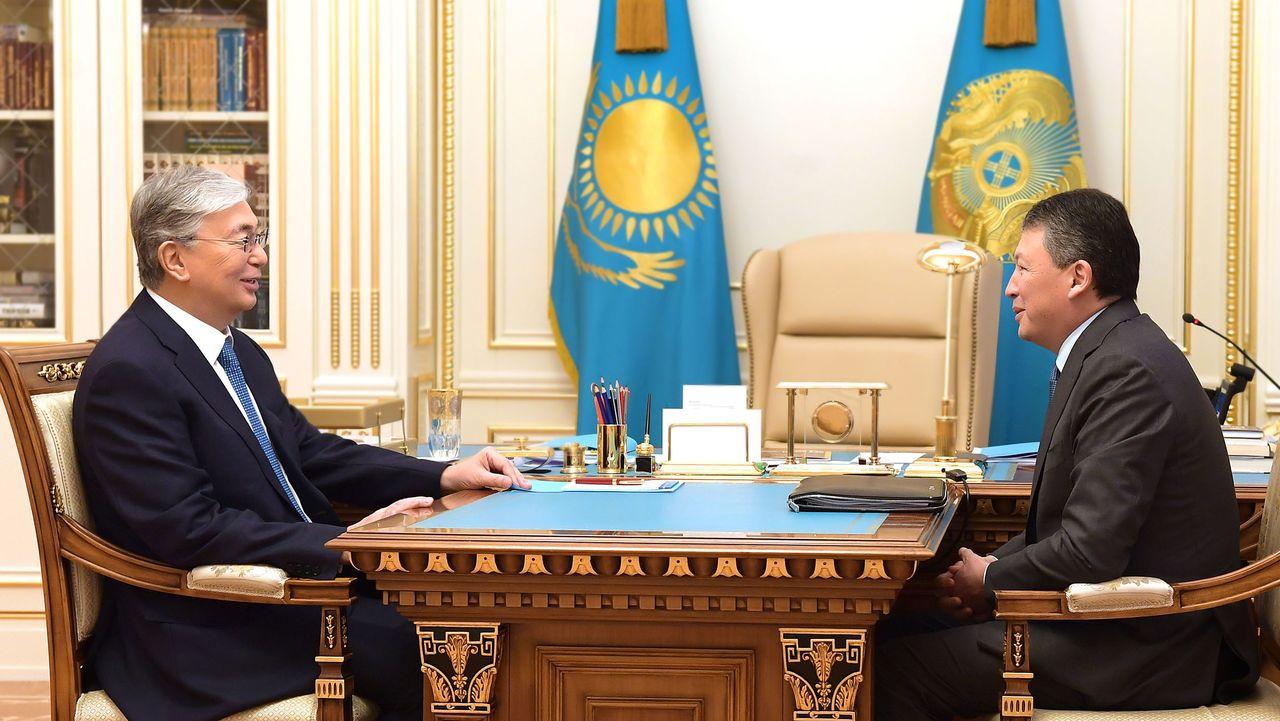 Президент «Атамекен» ҰКП президиумының төрағасы Тимур Құлыбаевты қабылдады