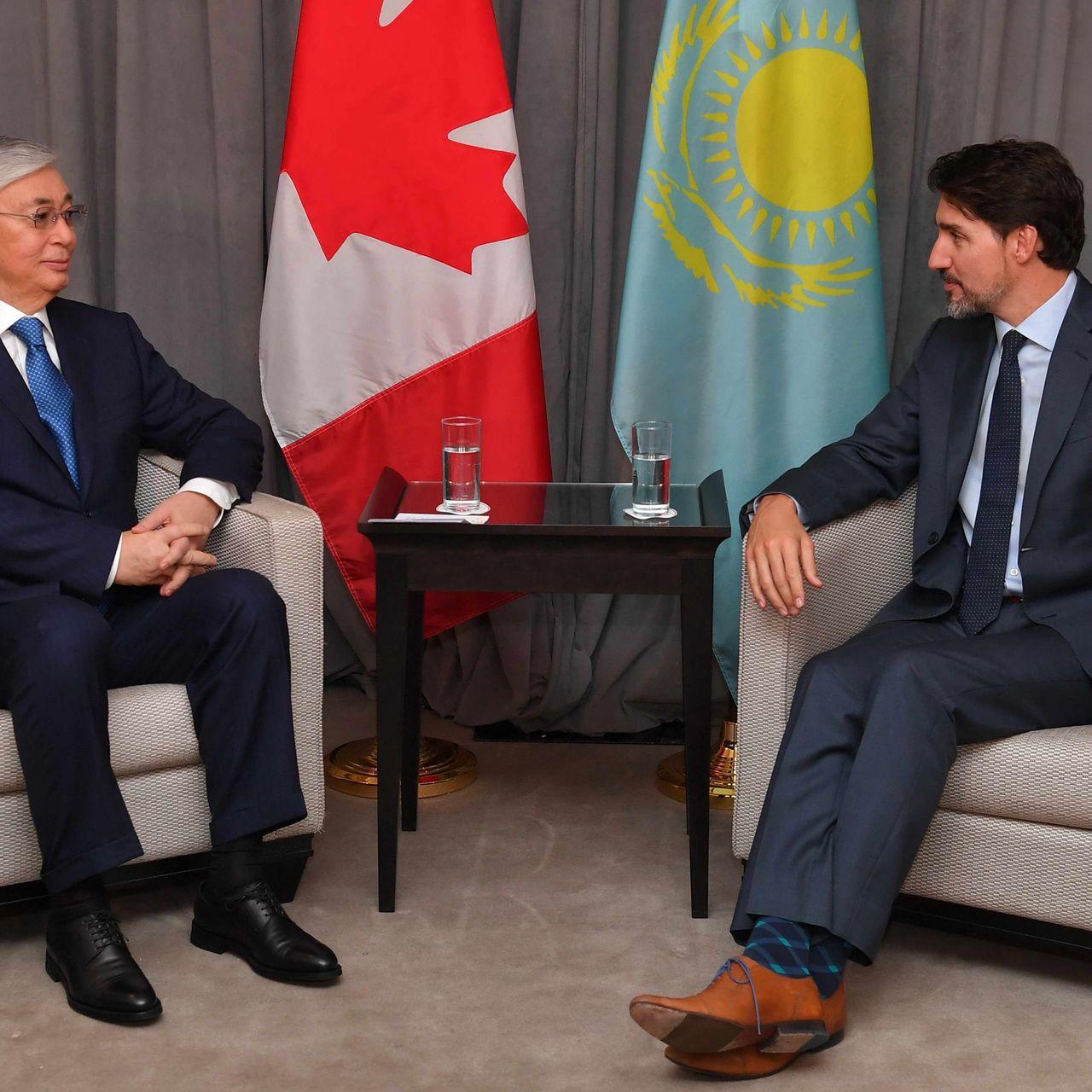 Мемлекет басшысы Канаданың Премьер-Министрі Джастин Трюдомен кездесу өткізді