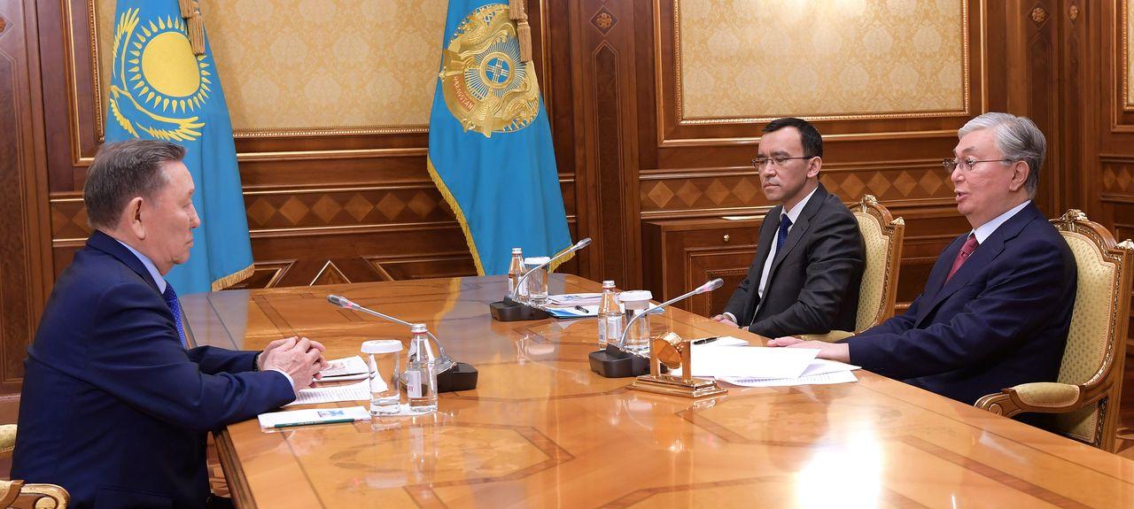 Глава государства принял общественного деятеля Адиля Ахметова