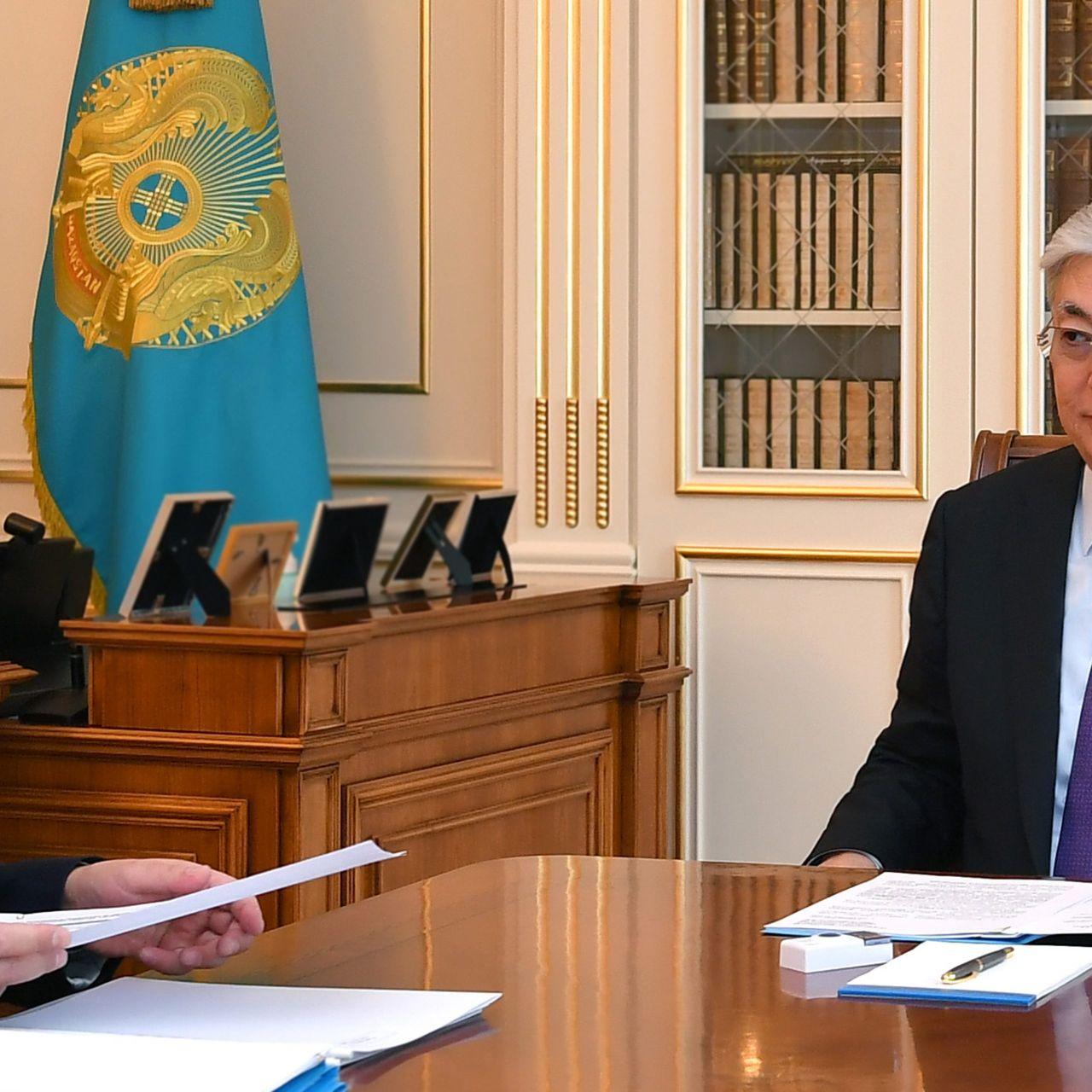 Мемлекет басшысы Еңбек және халықты әлеуметтік қорғау министрі Біржан Нұрымбетовті қабылдады
