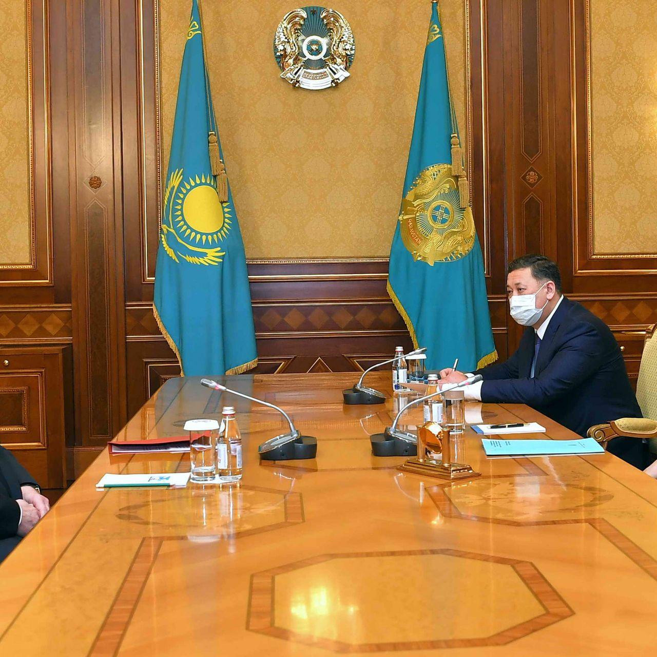 President Kassym-Jomart Tokayev receives Ambassador of Russia to Kazakhstan Alexey Borodavkin