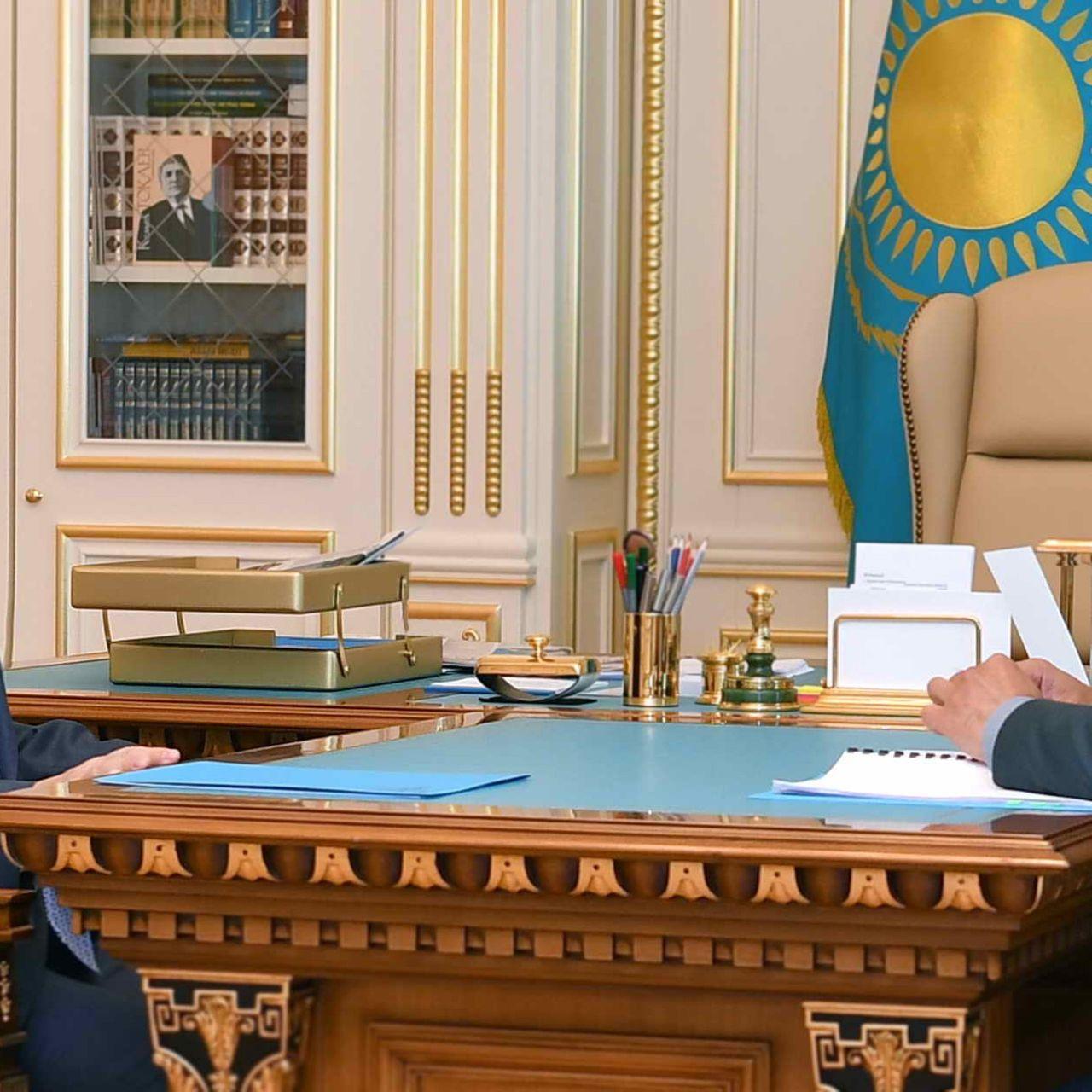 Мемлекет басшысы Қорғаныс министрі Нұрлан Ермекбаевты қабылдады