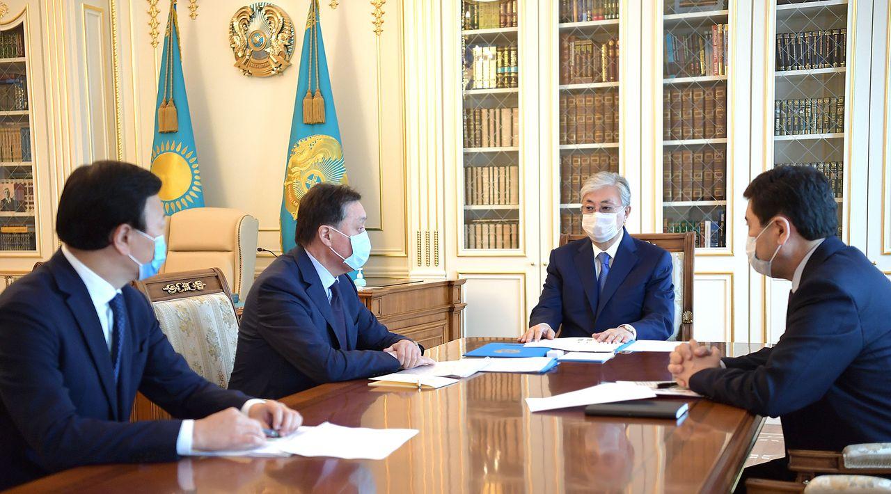 Касым-Жомарт Токаев провел совещание по вопросам стабилизации эпидемиологической ситуации