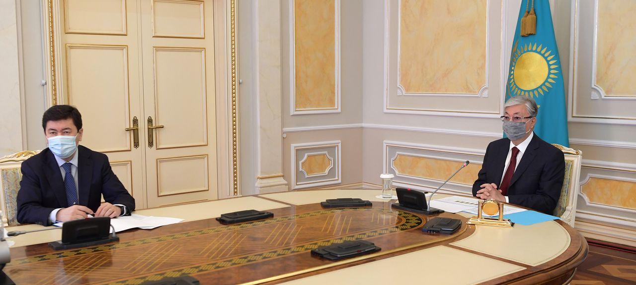 Қазақстан Президенті Ұлттық банктің есебін қабылдады