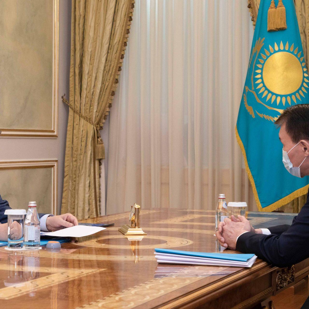 President Kassym-Jomart Tokayev receives Chairman of the Anti-Corruption Agency Alik Shpekbayev