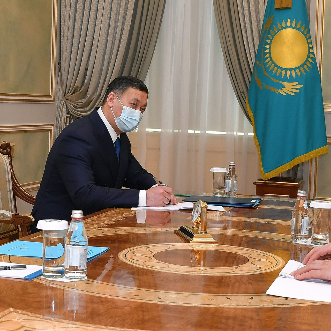 The President receives Kairat Sarybay, Executive Director of the Secretariat of the Conference on Interaction and Confidence Building Measure in Asia