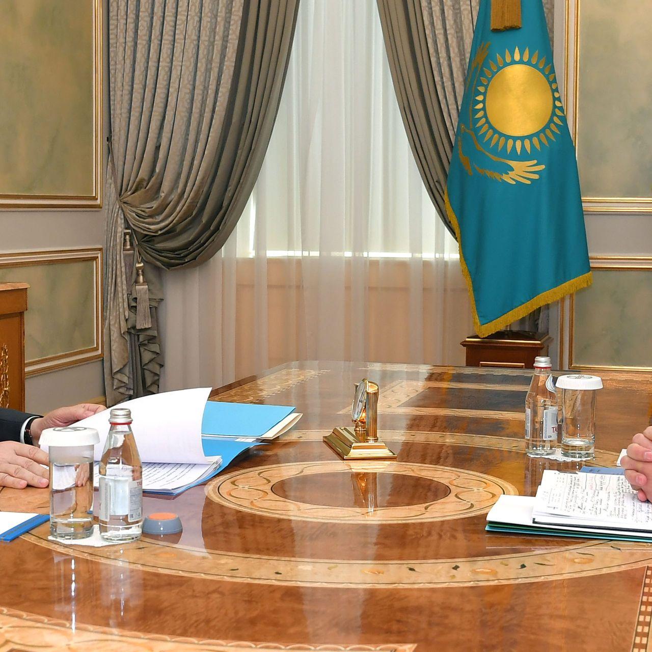Глава государства принял Председателя Конституционного Совета Кайрата Мами