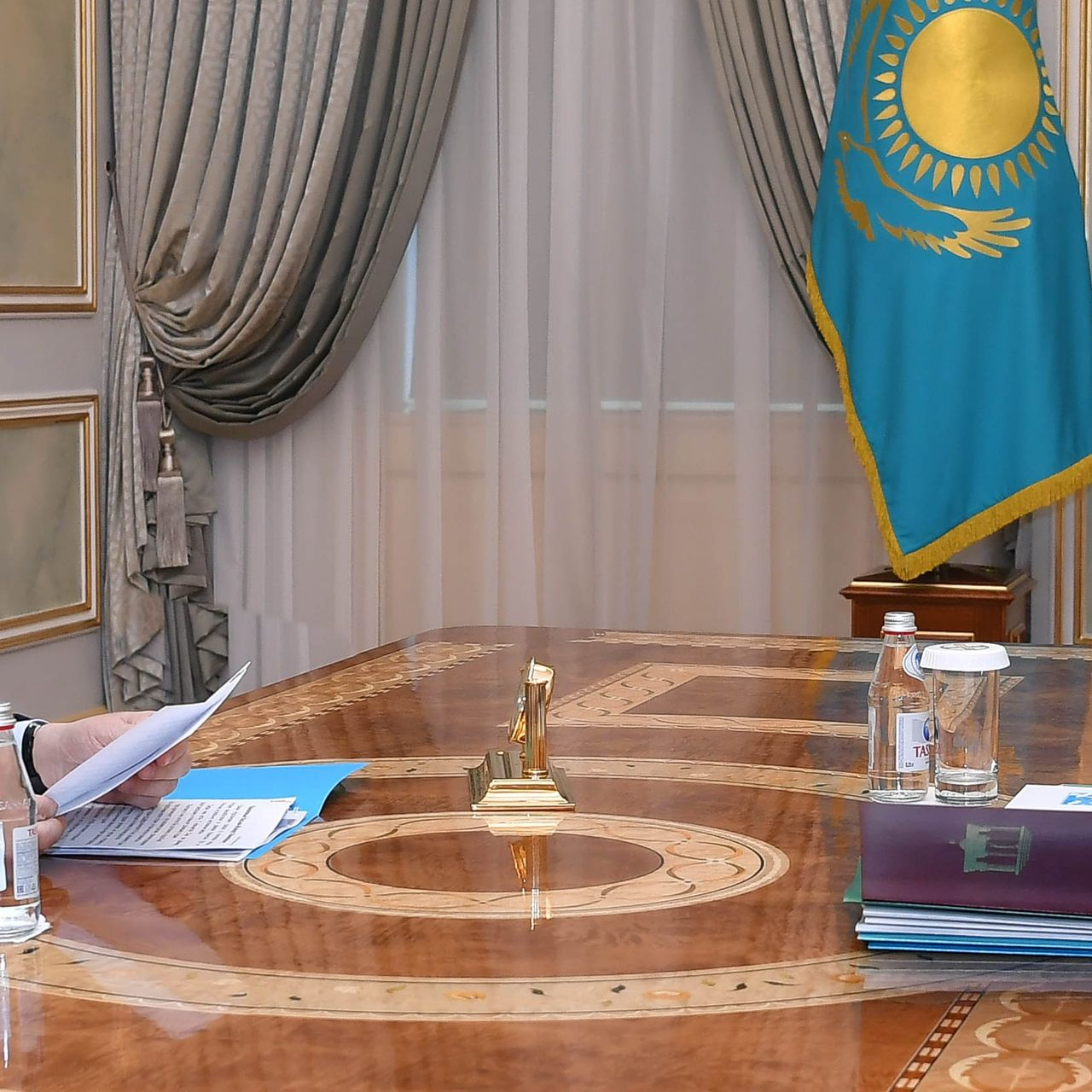 The President receives Chairman of the Supreme Court Zhakip Assanov