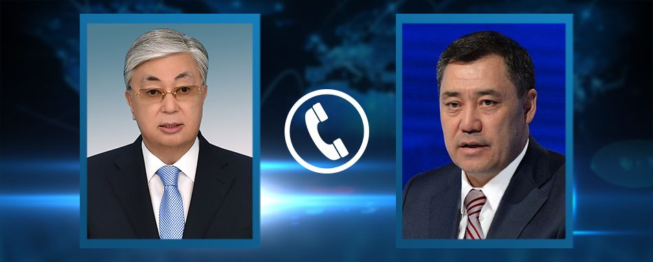 Kassym-Jomart Tokayev had a telephone conversation with the newly elected President of the Kyrgyz Republic Sadyr Zhaparov