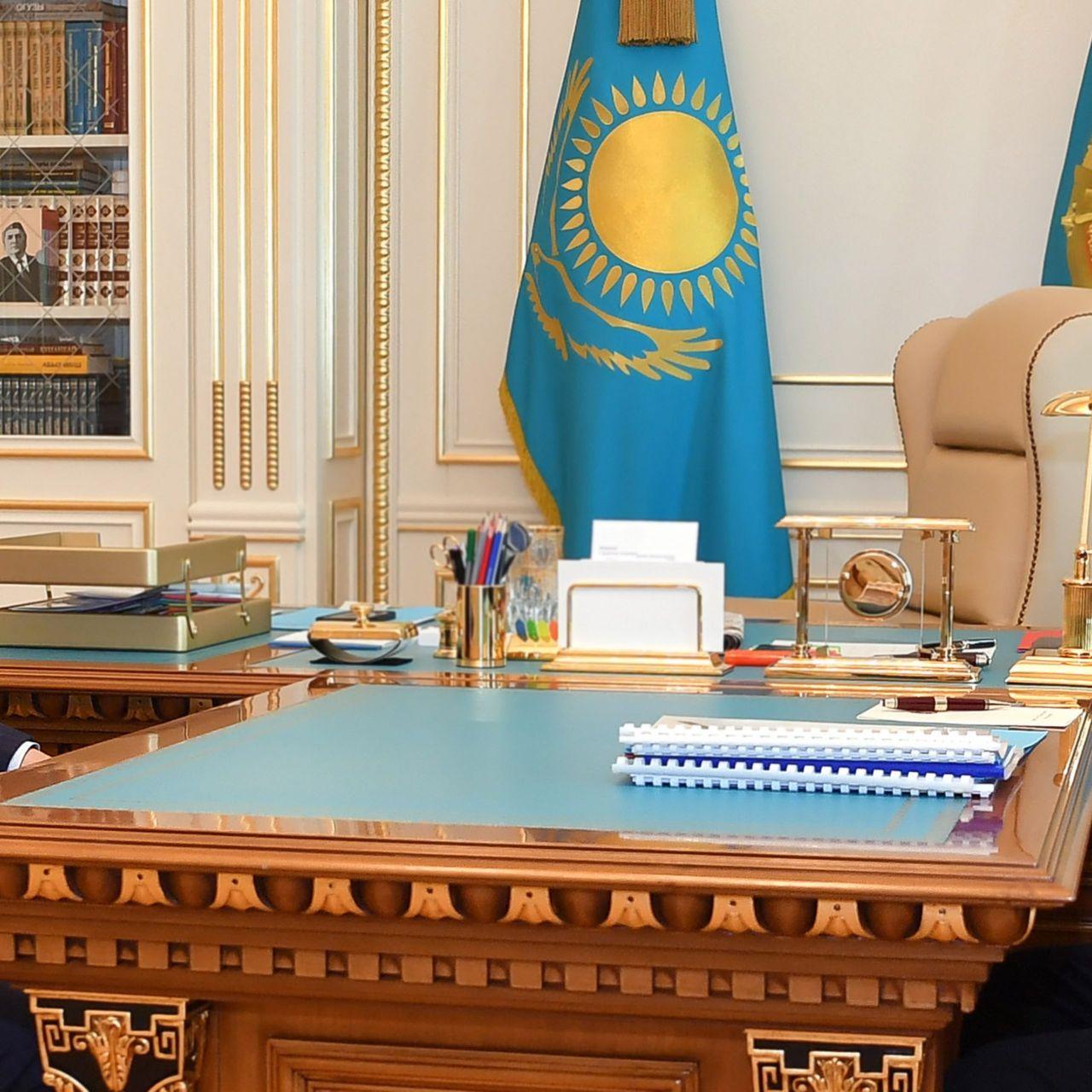 Президент Қасым-Жомарт Тоқаев Премьер-Министр Асқар Маминді қабылдады