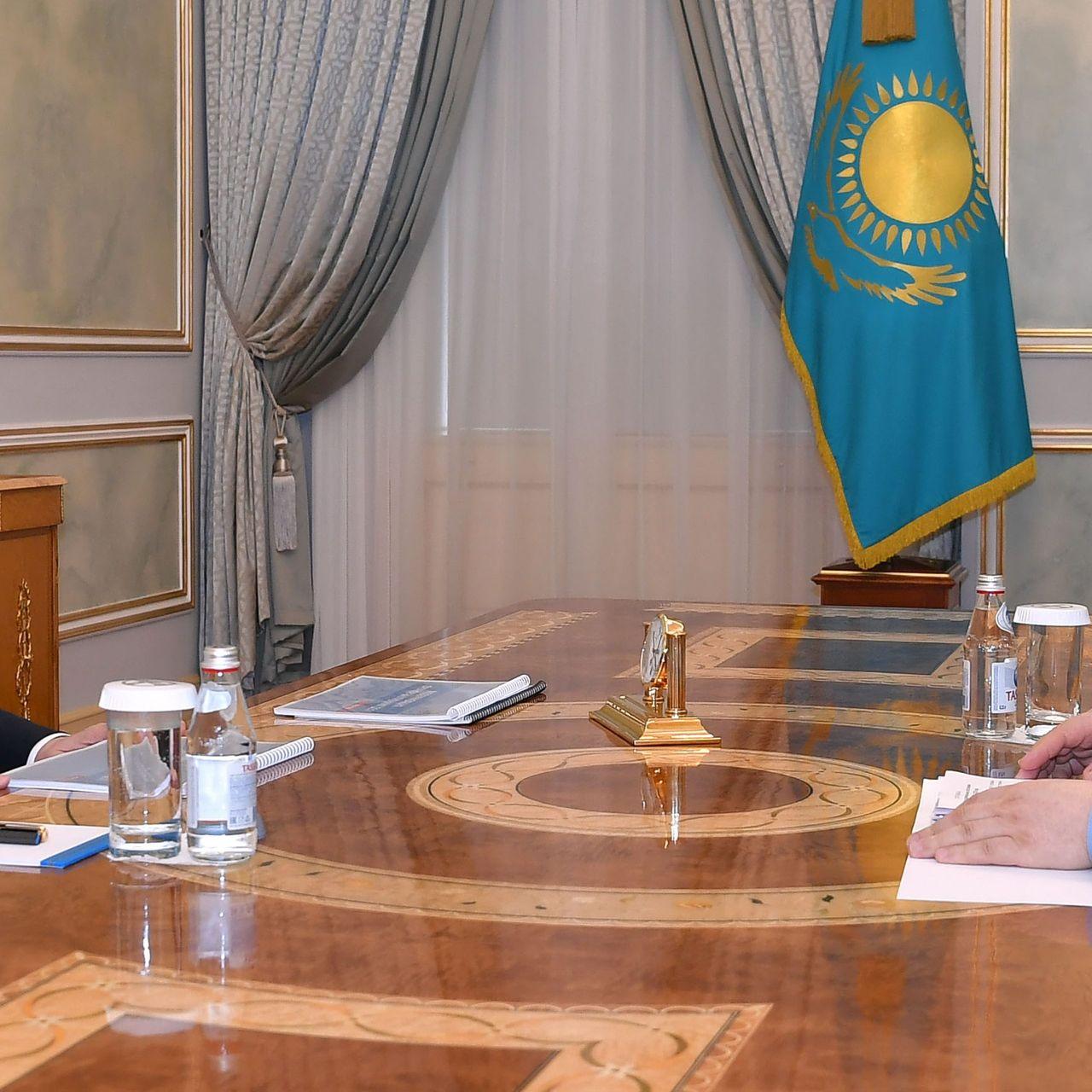 Мемлекет басшысы Ішкі істер министрі Ерлан Тұрғымбаевты қабылдады